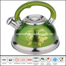 2.6L Color Stainless Steel Kettle